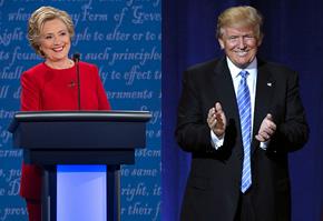 Hillary Clintonová a Donald Trump — kandidáti letošních prezidentských voleb