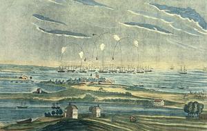 Bombardování pevnosti Ft. McHenry u Baltimoru