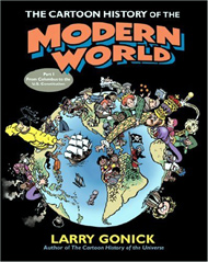 Přebal knihy The Cartoon History of the Modern World