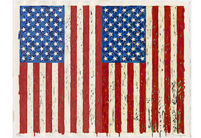 Jasper Johns. Vlajky I. Robert and Jane Meyerhoff Collection Published by Jasper