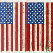 Jasper Johns, Flags I, 1973, screenprint, National Gallery of Art, Washington, R