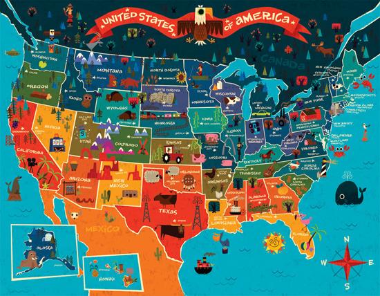 Mapa spojené státy americké Severní Karolína